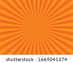 abstract orange background.... | Shutterstock .eps vector #1665041374
