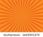 abstract orange background....   Shutterstock .eps vector #1665041374