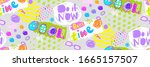 A  Bright And Cheerful Pattern...