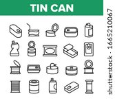 Tin Can Container Collection...