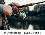 Fishing Rod With A Spinning...