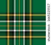 vector tartan background for st....   Shutterstock .eps vector #1665225517