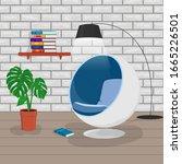 vector illustration of modern... | Shutterstock .eps vector #1665226501