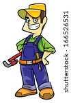 technicians | Shutterstock .eps vector #166526531