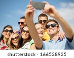 summer  holidays  vacation and... | Shutterstock . vector #166528925