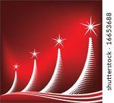 christmas background vector | Shutterstock .eps vector #16653688
