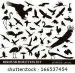 Bird Vectors. Silhouettes...