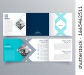 brochure design  brochure... | Shutterstock .eps vector #1665462511