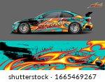 car wrap design concept....   Shutterstock .eps vector #1665469267