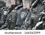 kyiv  ukraine   december 9 ... | Shutterstock . vector #166562099