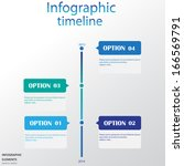infographic design template  | Shutterstock .eps vector #166569791