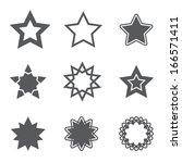 stars icon | Shutterstock .eps vector #166571411