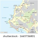 Map Of Seventeen Mile Drive A...