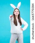 Model Dressed In Costume Easter ...