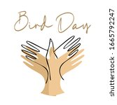 Bird Day Vector Illustration....