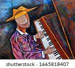 Cubist Surrealism Musician ...