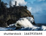 Waves At Cape Disappointment...