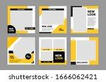 editable minimal banner... | Shutterstock .eps vector #1666062421
