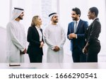 Mixed Business Team In Dubai....