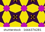 abstract decorative geometric...   Shutterstock . vector #1666376281