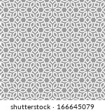 Stock vector ornamental seamless pattern vector abstract background 166645079