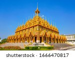 Beautiful Golden Pagoda During...