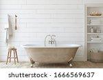 Farmhouse Bathroom With Shiplap ...