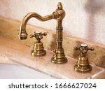 Vintage Faucet With Copper...