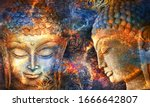 Heads Of The Lord Buddha In...