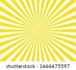 abstract light yellow sun...   Shutterstock .eps vector #1666675597