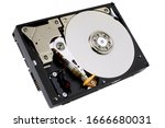 Hard Disk Drive Isolated On...