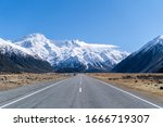 Winter season New Zealand  Roadview