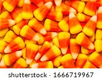 Orange And Yellow Candy Corn