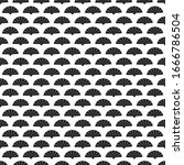seamless pattern geometric... | Shutterstock .eps vector #1666786504