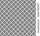 seamless pattern geometric... | Shutterstock .eps vector #1666786507