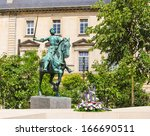 Jeanne D\'arc Monument In Reims...