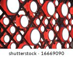 artwork with chinese drum   Shutterstock . vector #16669090