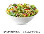 Green Lettuce Salad With Fresh...