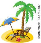 vacation and travel background  ...   Shutterstock .eps vector #166713587