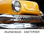 us classic car | Shutterstock . vector #166719365