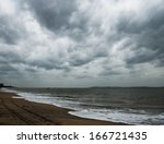 View Of Storm Seascape With...
