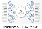 infographic design template.... | Shutterstock .eps vector #1667290081