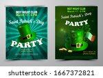 saint patricks day invitation... | Shutterstock .eps vector #1667372821
