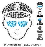dot mosaic based on evil... | Shutterstock .eps vector #1667392984
