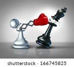 secret weapon business concept... | Shutterstock . vector #166745825