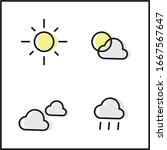 weather icon with simple...