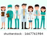 health and medical concept... | Shutterstock .eps vector #1667761984
