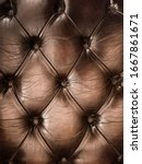 Brown Padded Leather Texture ...