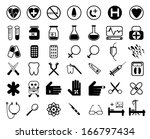 medical icons | Shutterstock .eps vector #166797434