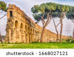 Ruins Of The Iconic Parco Degli ...